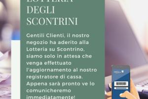 Post LOTTERIA DEGLI SCONTRINI